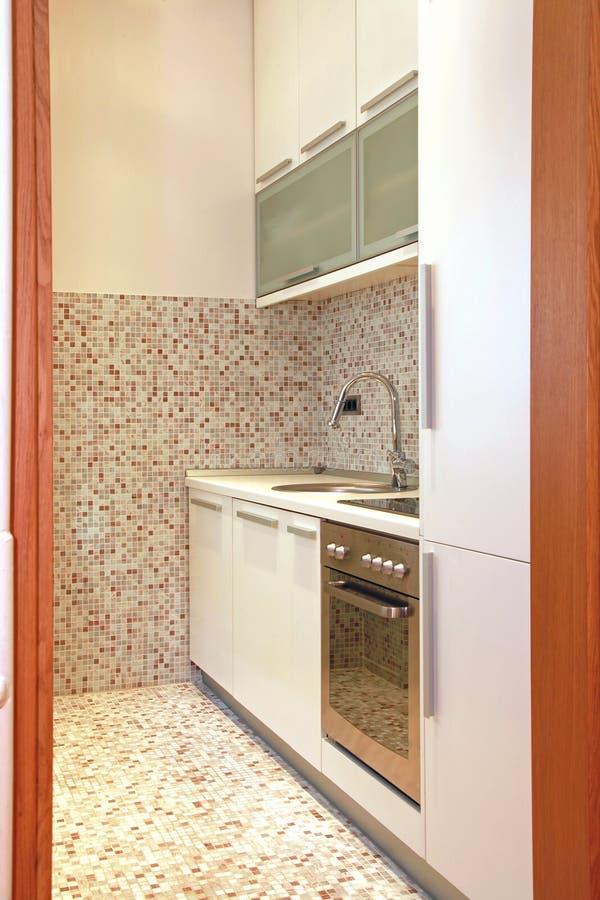 Detalle contemporáneo de la cocina foto de archivo libre de regalías