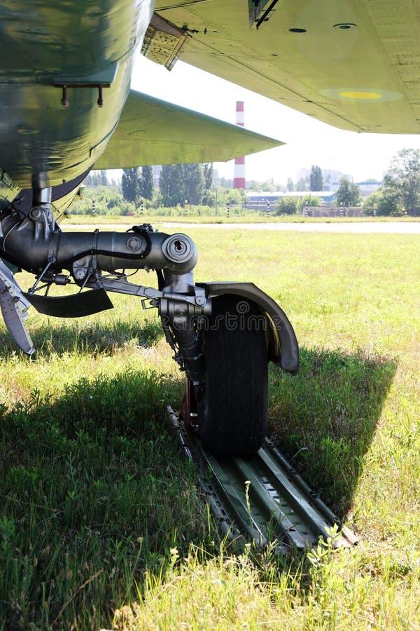 detalle de aviones militares viejos imagen de archivo