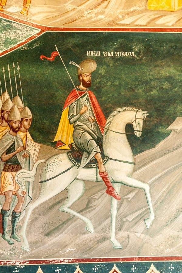 Detalle de Brancoveanu de la iglesia imagen de archivo libre de regalías