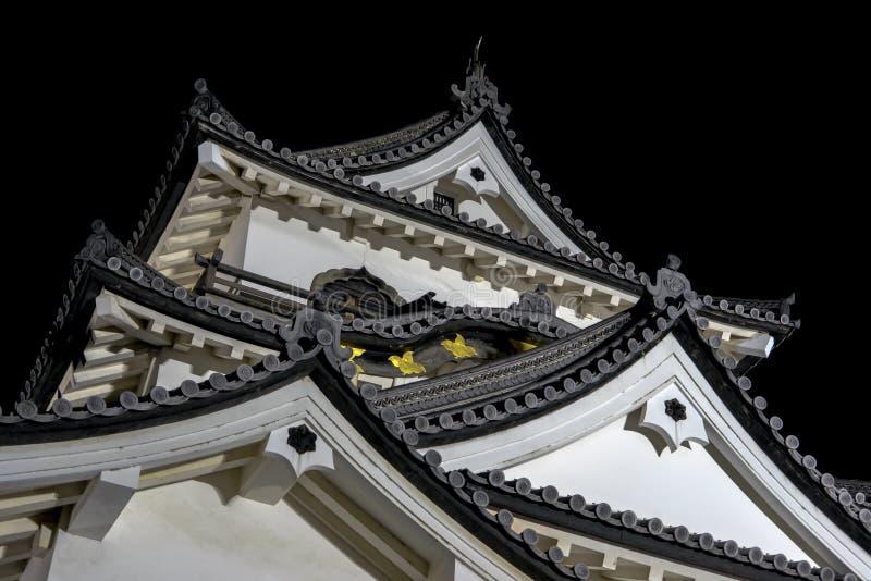 Detalle de Hikone Castle fotos de archivo libres de regalías