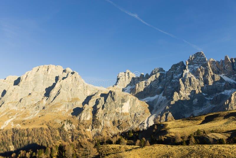 Detalle de la alta montaña fotos de archivo