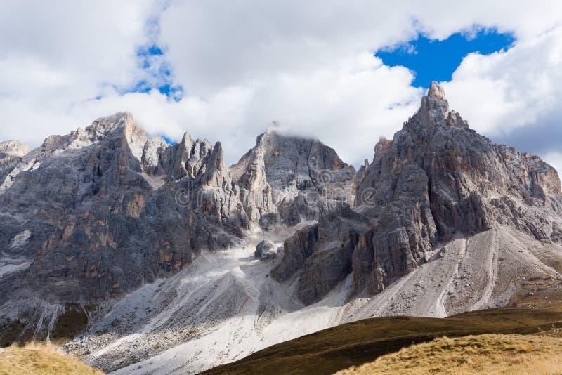 Detalle de la alta montaña imagen de archivo libre de regalías