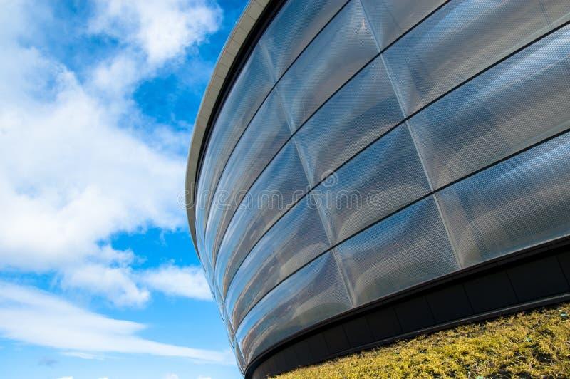 Detalle de la arena hidráulica del concierto en Glasgow. fotos de archivo libres de regalías