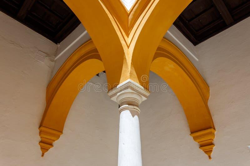 Detalle de la arquitectura del colum fotografía de archivo libre de regalías