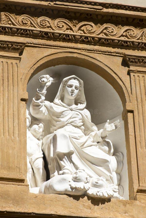 Detalle de la arquitectura en Palermo imagen de archivo libre de regalías