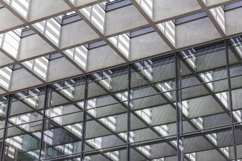 Detalle de la arquitectura, fondo abstracto de las propiedades inmobiliarias fotografía de archivo