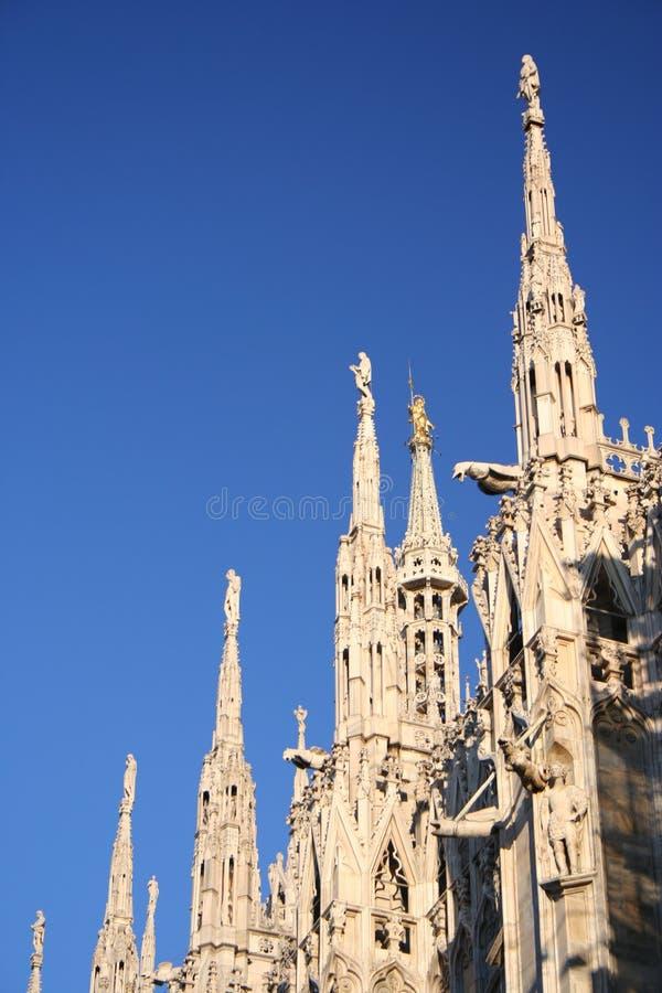 Detalle de la bóveda de Milano imágenes de archivo libres de regalías