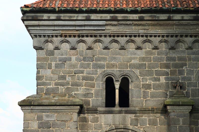 Detalle de la bas?lica del St Procopius en Trebic imagen de archivo