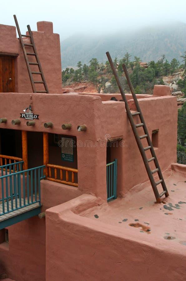 Detalle de la casa del pueblo imagen de archivo libre de regalías