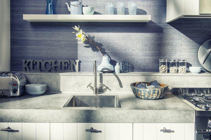 Detalle de la cocina casera foto de archivo libre de regalías