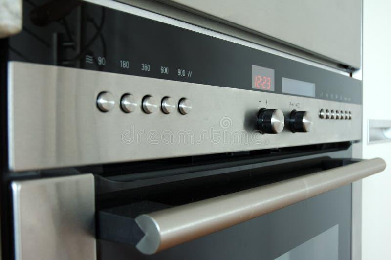 Detalle de la estufa foto de archivo