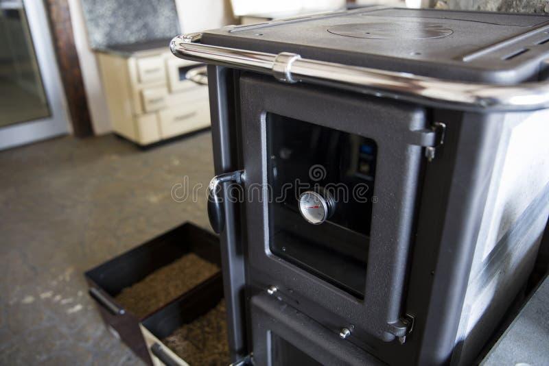 Detalle de la fábrica de la estufa foto de archivo libre de regalías