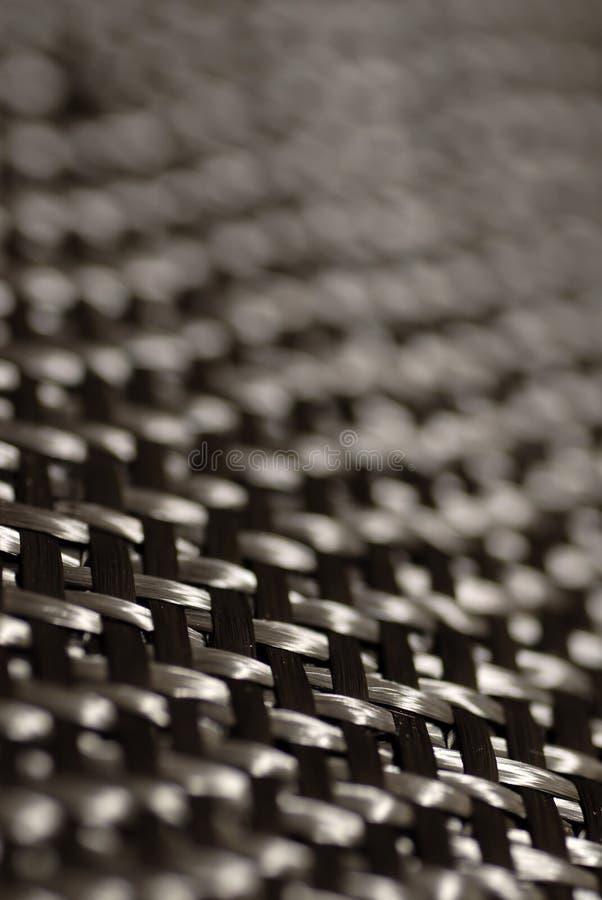 Detalle de la fibra del carbón foto de archivo libre de regalías