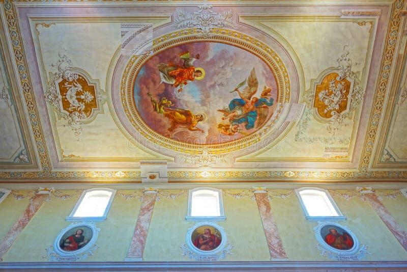 Detalle de la iglesia fotografía de archivo libre de regalías