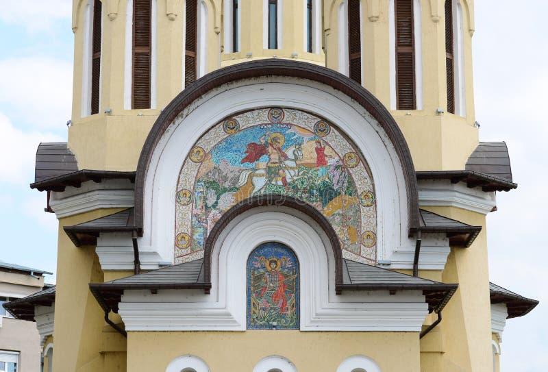 Detalle de la iglesia de San Jorge foto de archivo