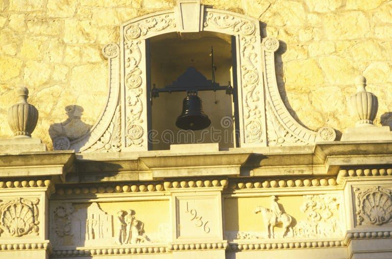 Detalle de la misión histórica de Álamo, San Antonio, Tejas fotografía de archivo libre de regalías