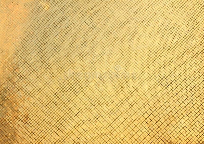 Detalle de la pared de oro imagen de archivo libre de regalías