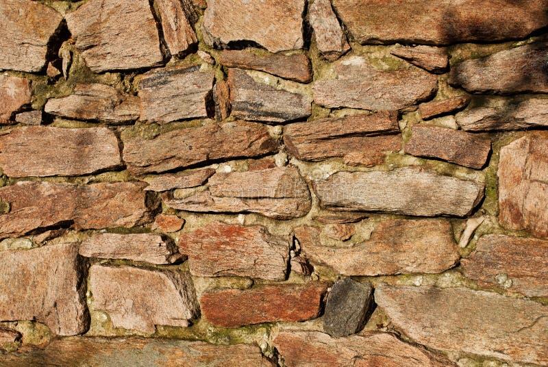 Detalle de la pared de piedra fotografía de archivo libre de regalías