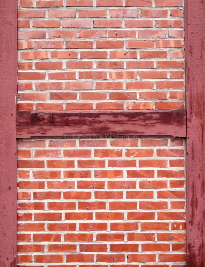 Detalle de la pared del marco de madera fotografía de archivo