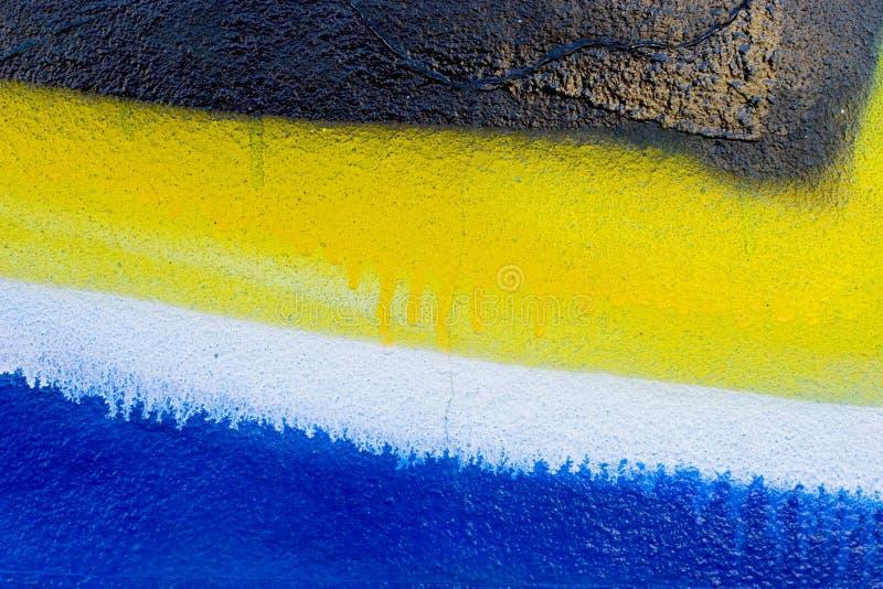 Detalle De La Pintada Fotografía de archivo libre de regalías