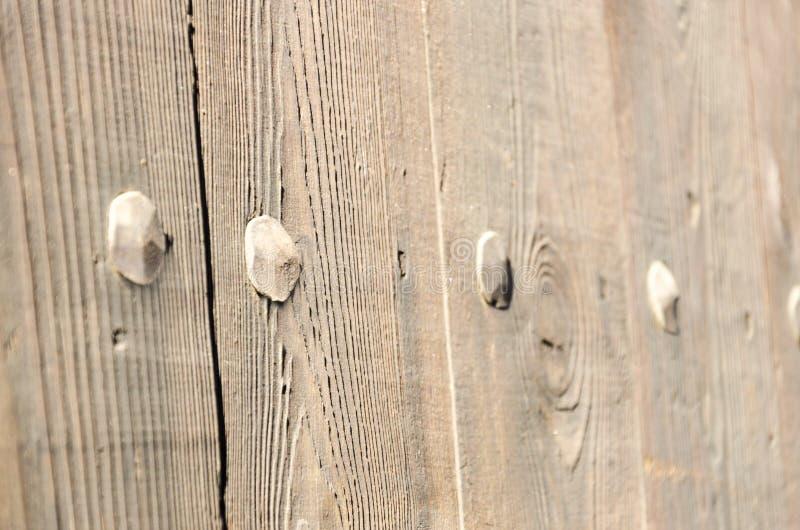 Detalle de la puerta de madera antigua imagenes de archivo