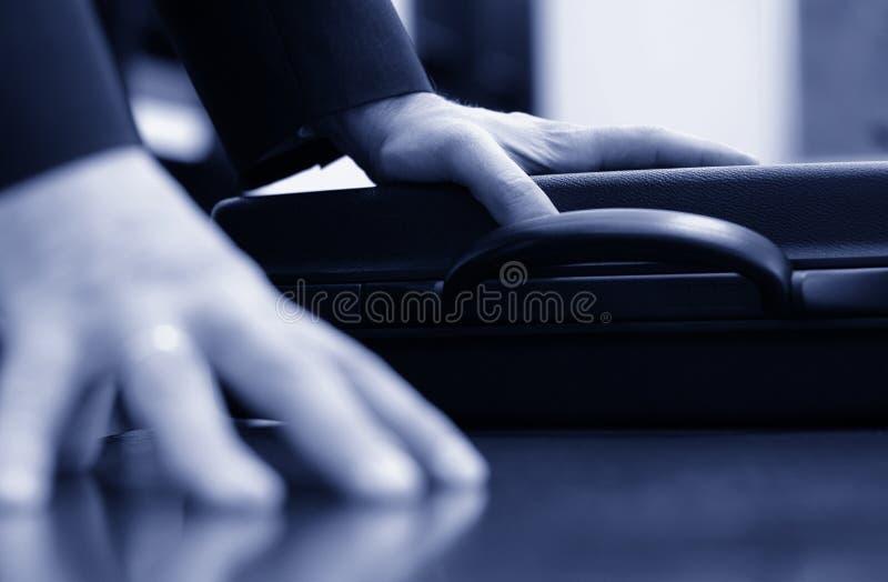 Detalle de la reunión de negocios imagen de archivo libre de regalías