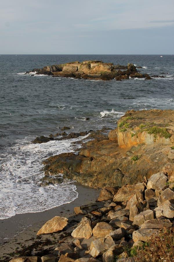 Detalle de la roca una formación foto de archivo