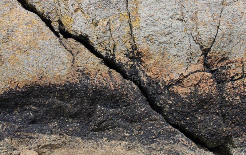 Detalle de la roca una formación fotos de archivo
