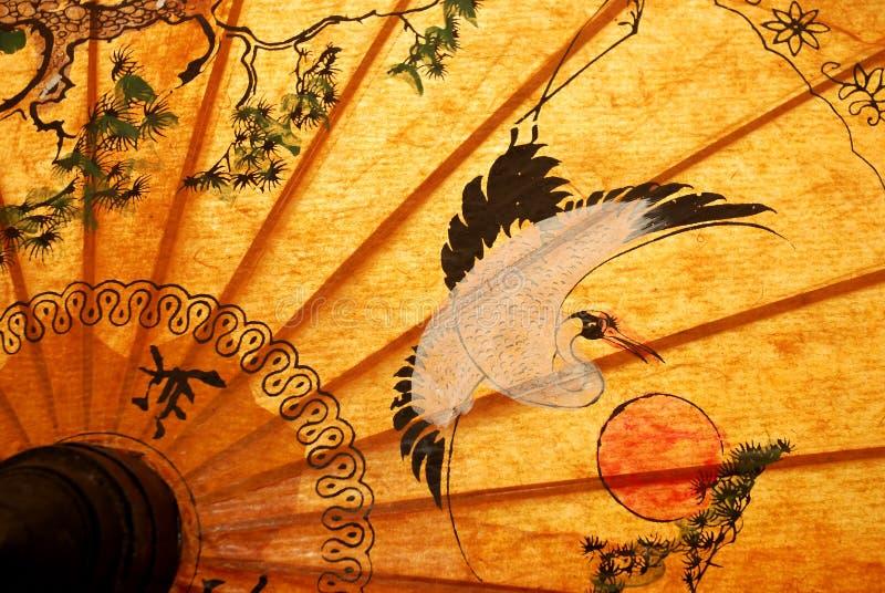 Detalle de la sombrilla fotografía de archivo libre de regalías