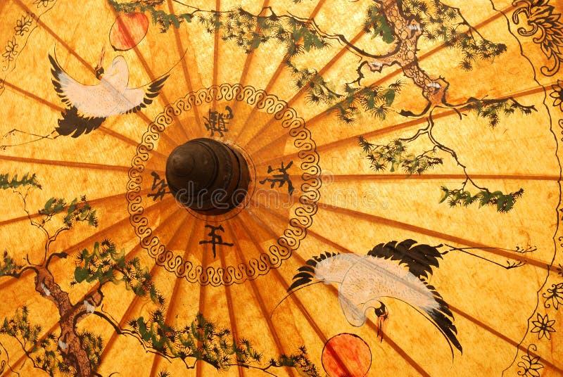 Detalle de la sombrilla imagen de archivo libre de regalías