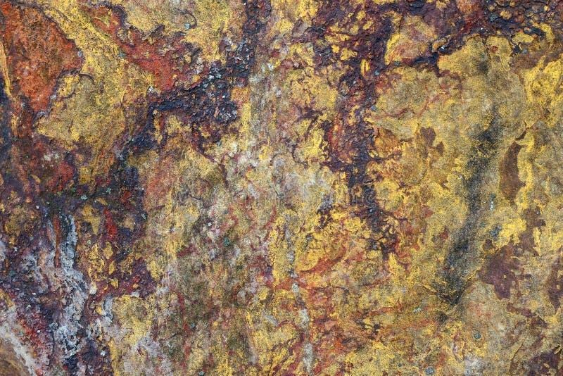 Detalle de la superficie de la roca del cuarzo fotografía de archivo