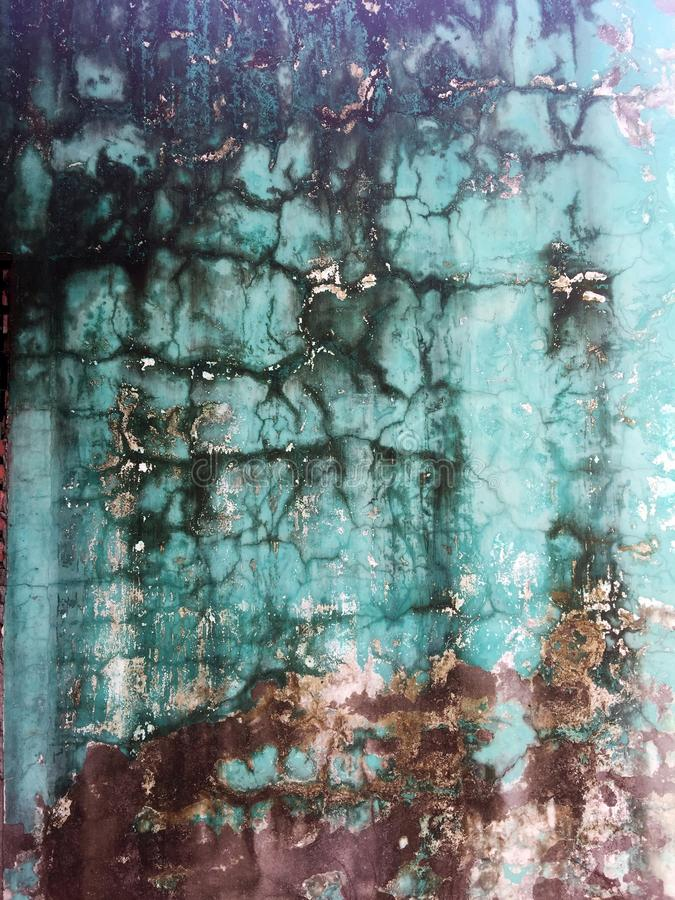 Detalle de la textura de la pared dilapidada y decadente fotos de archivo libres de regalías
