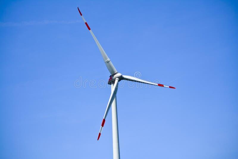 Detalle de la turbina de viento en Baviera, Alemania fotos de archivo libres de regalías