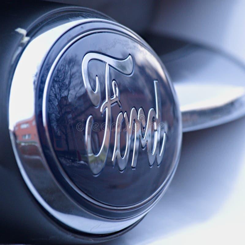 Detalle de Logo Ford imagen de archivo