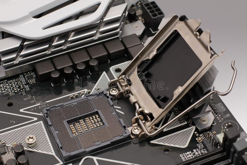 Detalle de los componentes foto de archivo