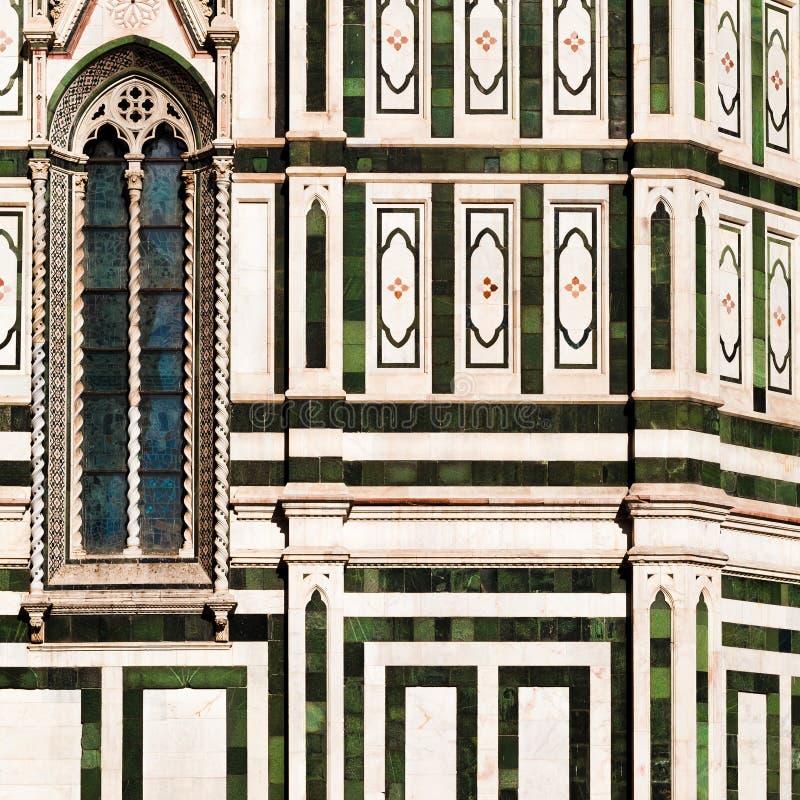 Detalle de los di Santa Maria del Fiore de la basílica foto de archivo