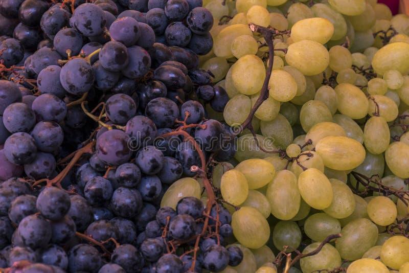 Detalle de manojos de uvas imagen de archivo libre de regalías