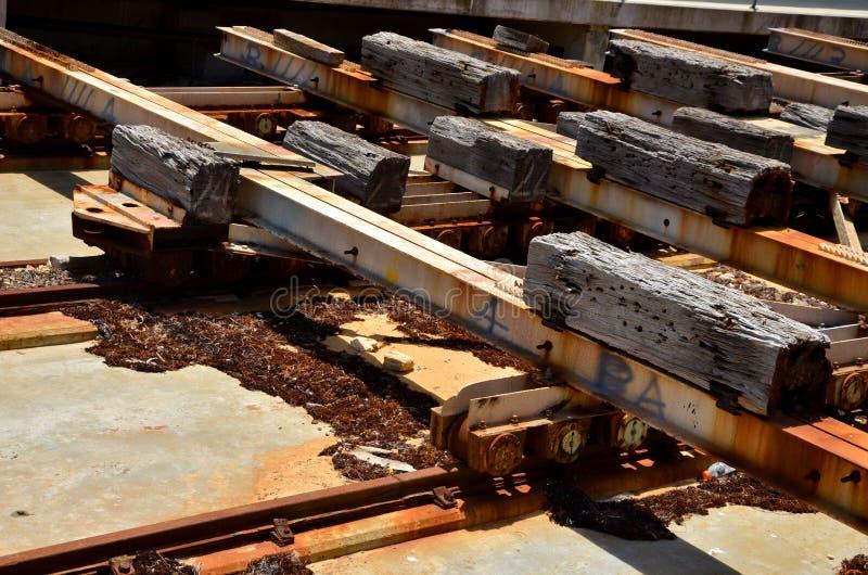 Detalle de Railworks imagen de archivo libre de regalías