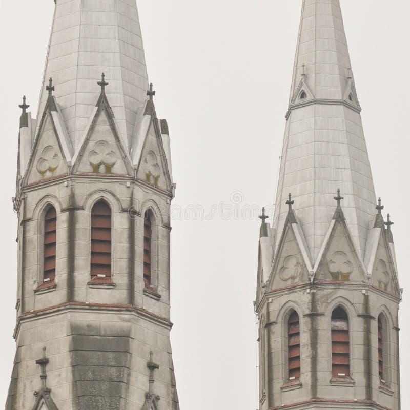 Detalle de Roman Catholic Church fotografía de archivo libre de regalías