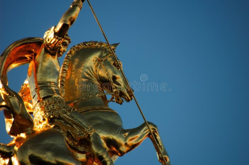 Detalle de San Jorge fotografía de archivo libre de regalías