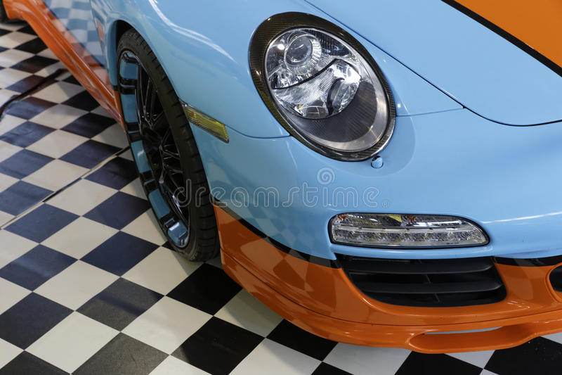 Coche de deportes de Porsche fotos de archivo