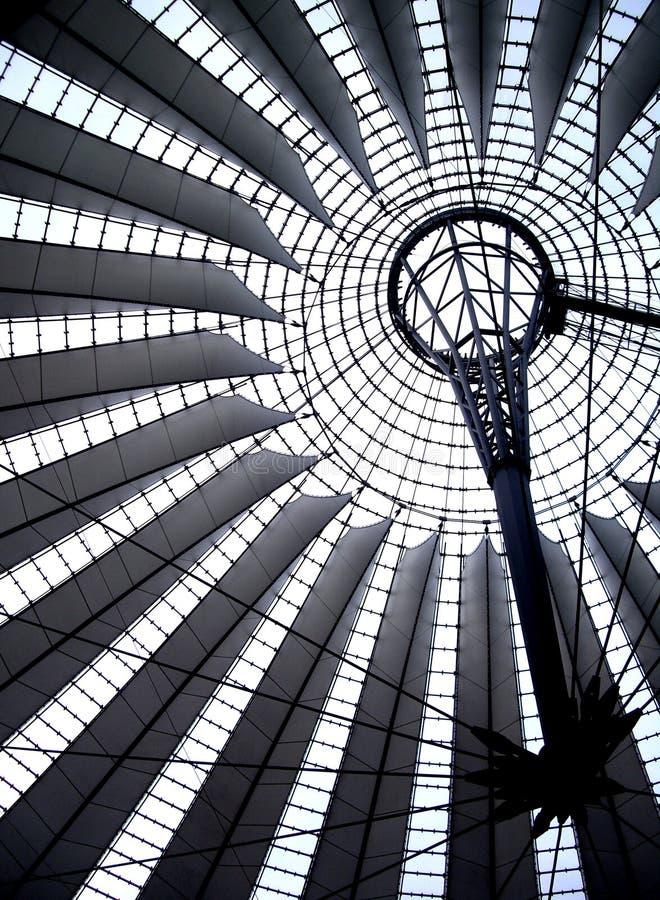 Detalle de una bóveda en Postdammer Platz, Berlín imagenes de archivo