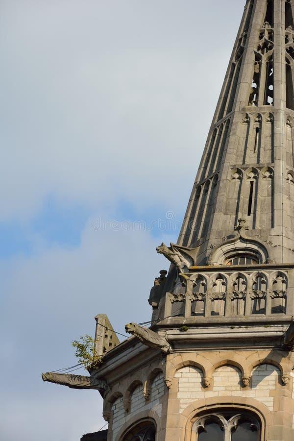 Detalle de una torre fotografía de archivo libre de regalías