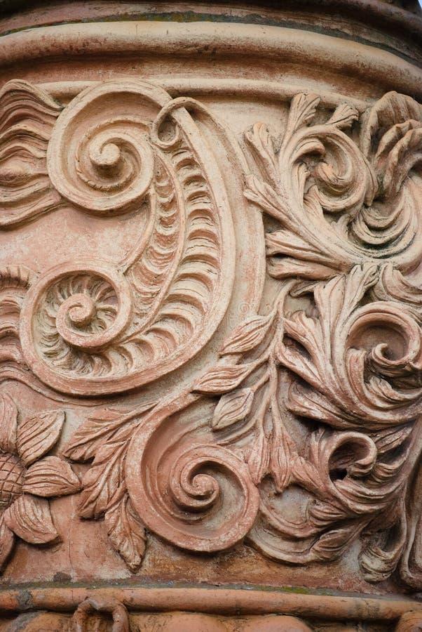 Detalle decorativo arquitectónico imagen de archivo