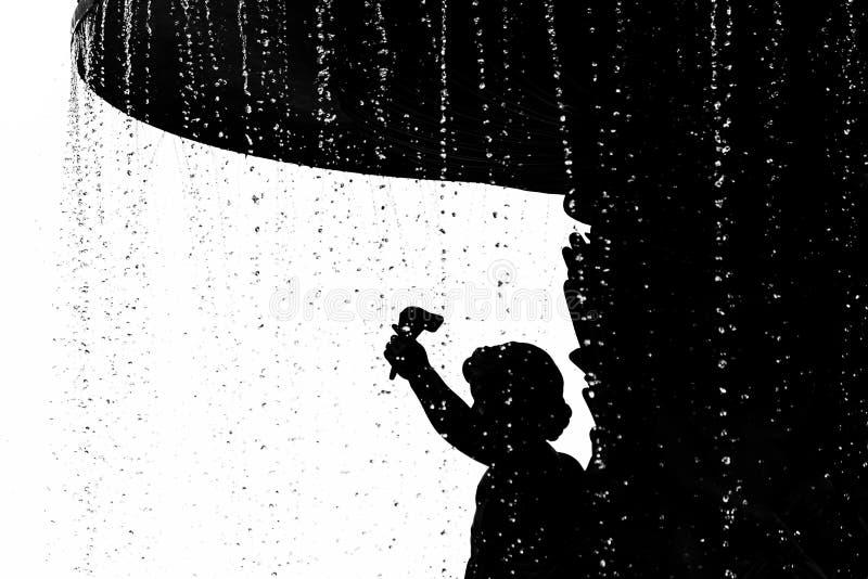 Detalle del ángel en Bethesda Fountain en el parque de Centrak, Nueva York foto de archivo