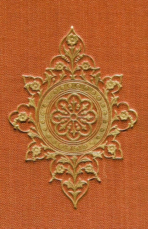 Detalle del arte-deco de Rose foto de archivo libre de regalías