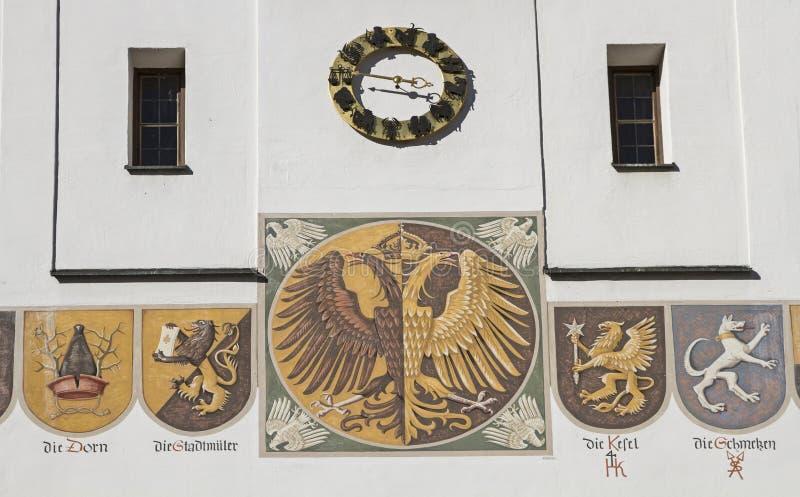 detalle del ayuntamiento fotografía de archivo