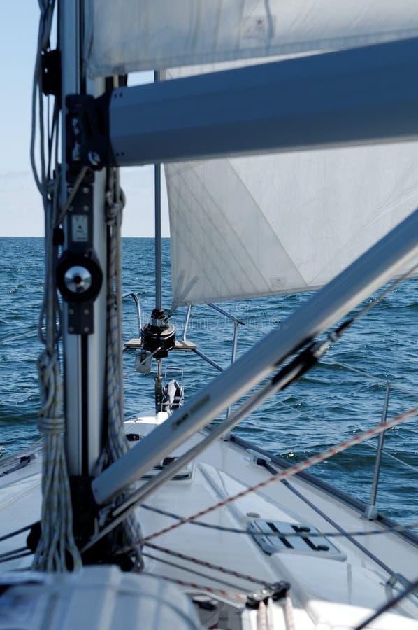 Detalle del barco de navegación imágenes de archivo libres de regalías