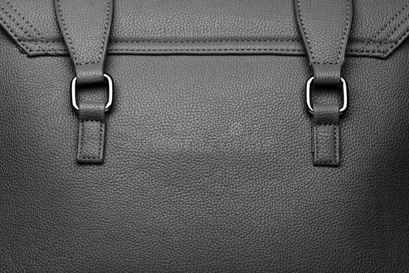 Detalle del bolso de cuero imagen de archivo libre de regalías