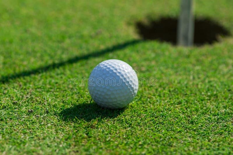 Detalle del campo de golf imagen de archivo